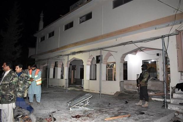 パキスタンで自爆、10人死亡 - ảnh 1