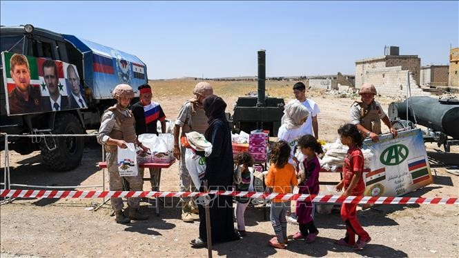 安保理、シリアでの人道状況に懸念を表明 - ảnh 1
