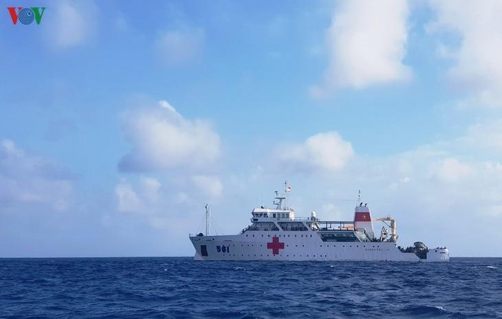 チュオンサ群島での漁民の活動を確保 - ảnh 1
