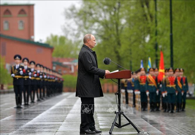 コロナで軍事パレード延期、プーチン大統領は - ảnh 1
