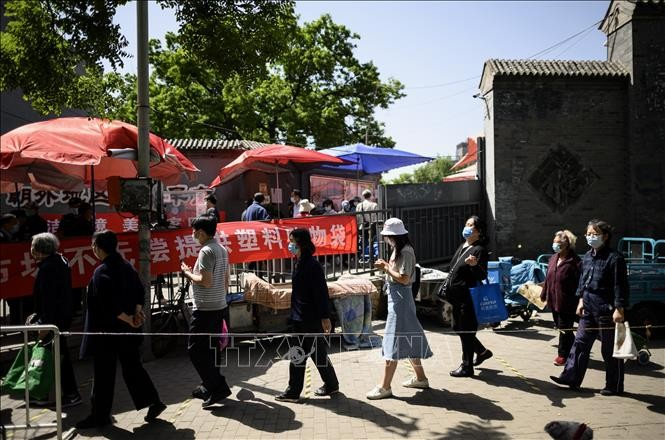 中国のコロナ新規感染者、4月下旬以来の高水準 武漢で5人感染 - ảnh 1