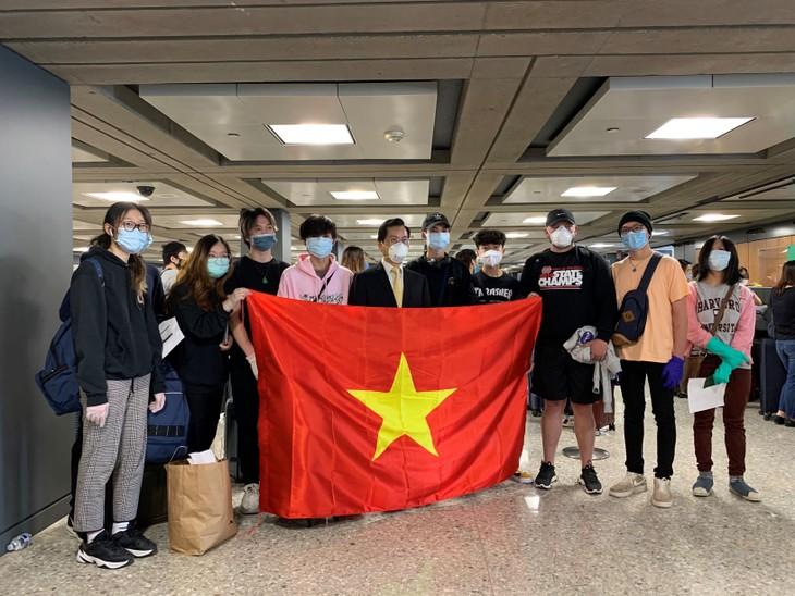 340人以上のベトナム人 アメリカから無事に帰国 - ảnh 1