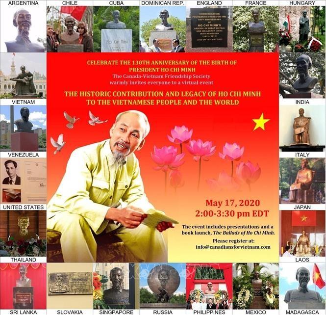カナダ・ベトナム友好協会、ホーチミン主席に関するセミナーを開催 - ảnh 1