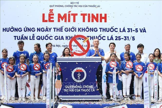 「世界禁煙デー」 タバコから青少年を守る - ảnh 1