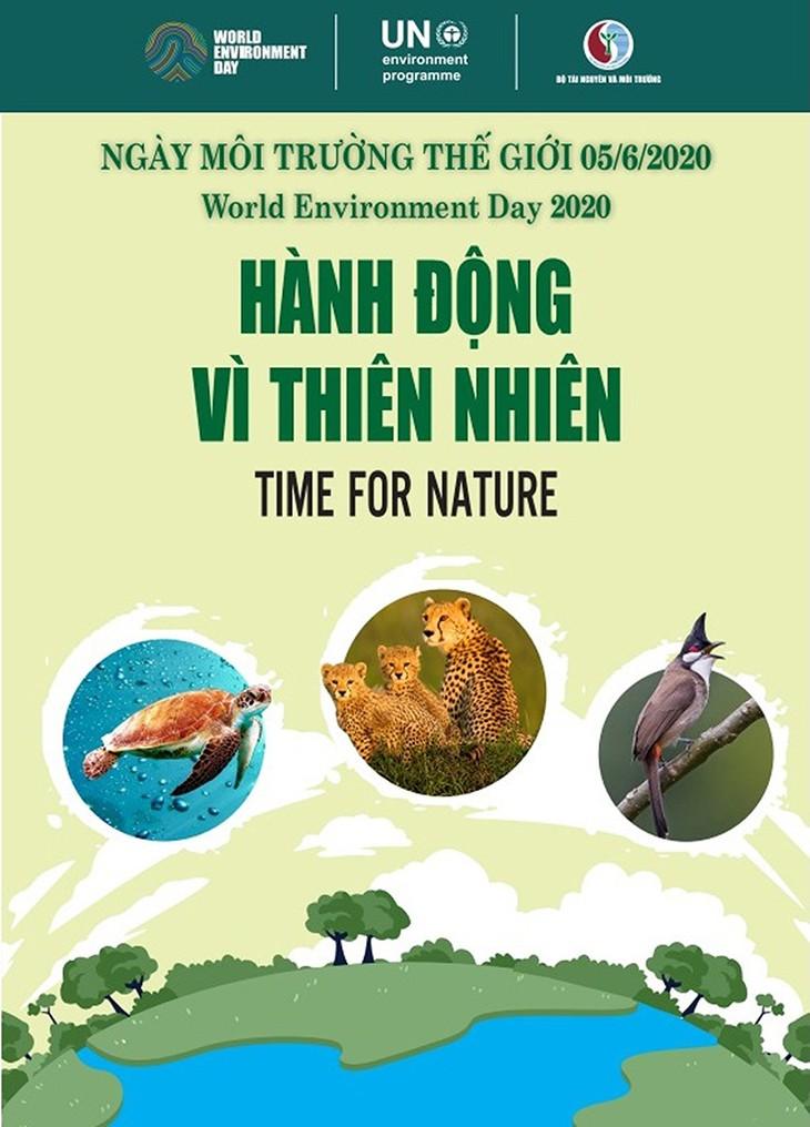 世界環境デー2020と「タイム・フォー・ネイチャー」  - ảnh 1
