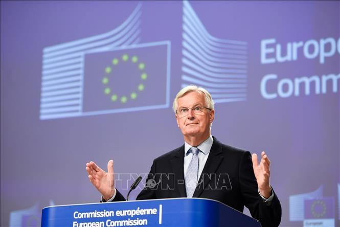 英EU、15日に首脳会談 FTA交渉で中間評価 - ảnh 1