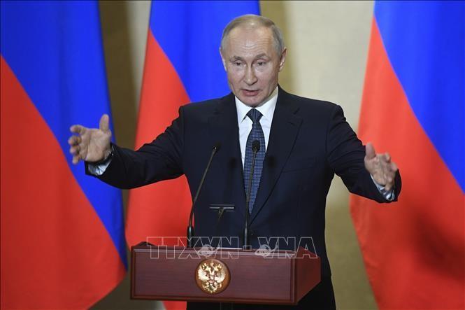 プーチン氏、北方領土は「我々にとって家族であり家だ」…改憲投票前に訴え - ảnh 1