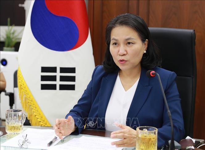 韓国女性高官がWTO立候補表明次期事務局長選、地位向上狙う - ảnh 1