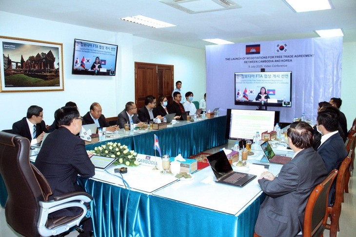 韓国・カンボジア FTA交渉を開始  - ảnh 1