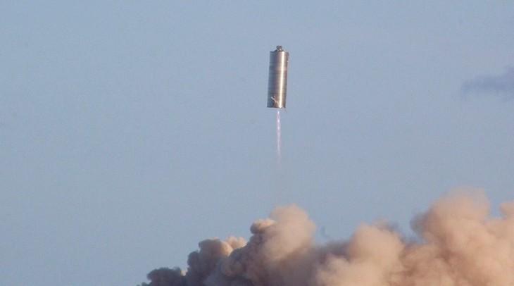 SpaceXがStarshipプロトタイプの高度150メートル飛行試験に成功 - ảnh 1