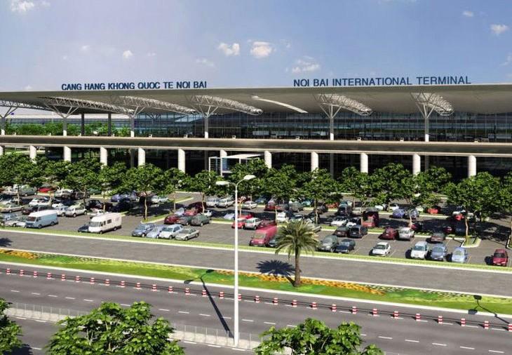 首都ハノイの国際空港 2050年をめどに1億人の利用者 - ảnh 1