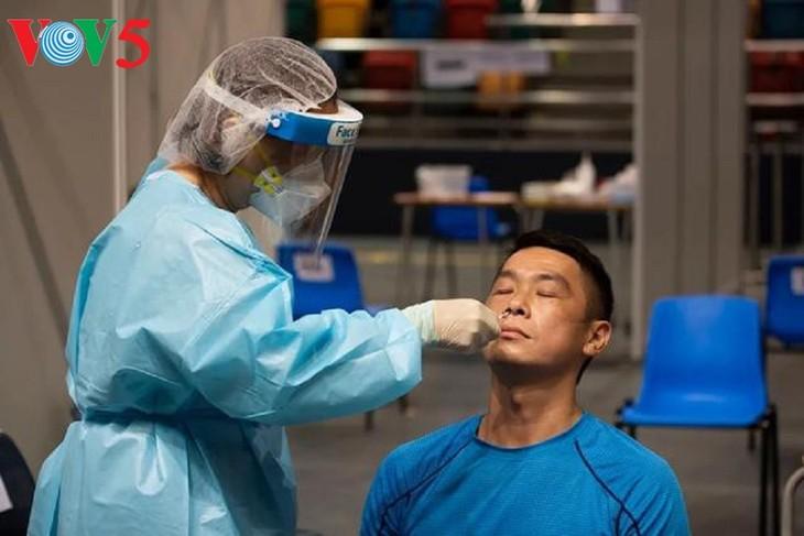香港、新型コロナの社区検査普及プログラムを開始 - ảnh 1