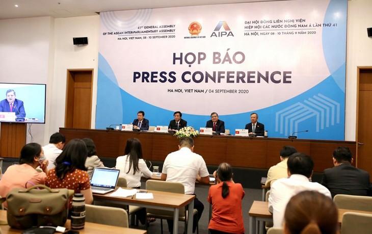 第41回AIPA総会の開幕へ準備大詰め - ảnh 1