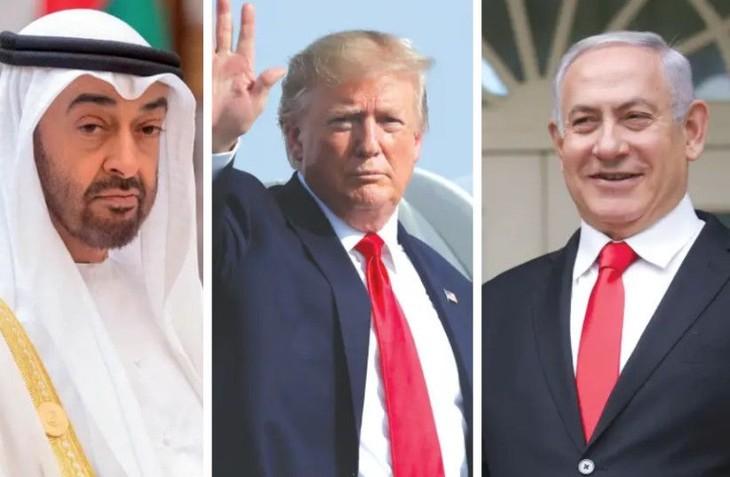 イスラエルとUAE国交正常化、ホワイトハウスで15日に署名式 - ảnh 1