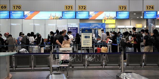 ロシアで足止めのベトナム人340人が帰国 - ảnh 1