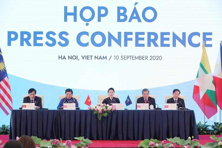 第41回AIPA総会の終了後の記者会見 - ảnh 1