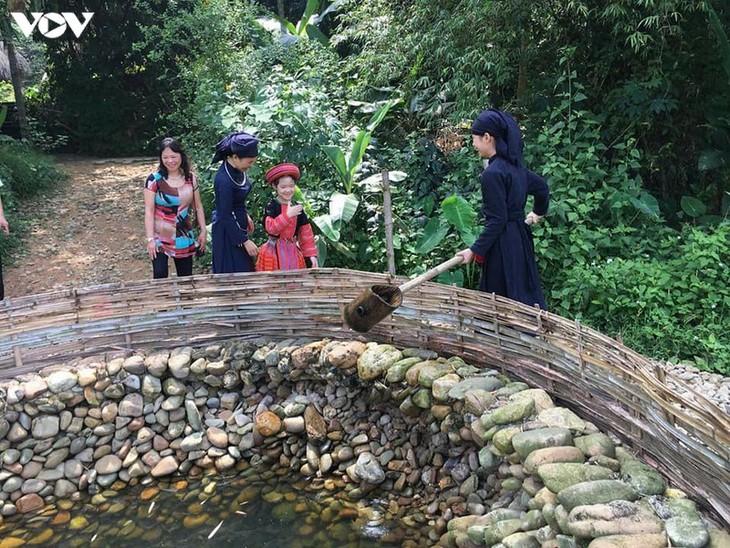 伝統文化の保存に取り組むテイ族の村 - ảnh 1