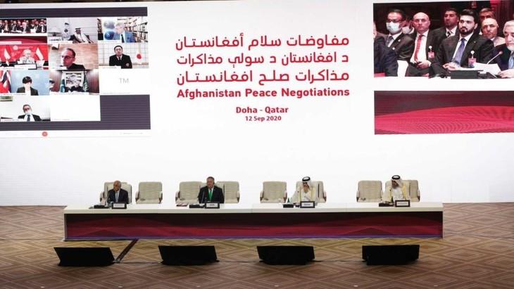 アフガニスタン政府とタリバンが協議始まり - ảnh 1