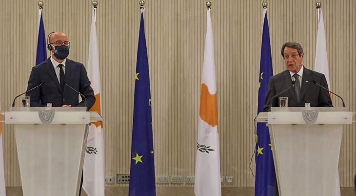 トルコ、キプロス島沖のエネルギー掘削を10月半ばまで延長 - ảnh 1