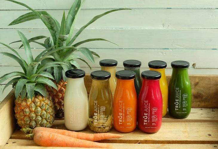 健康的なフレッシュジュースを提供するサービス「True Juice」 - ảnh 1