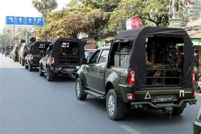 クーデター後初の高官協議 ミャンマー外相、タイ訪問 - ảnh 1