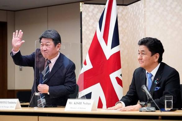 日本とハンガリー外相 中国の一方的現状変更試みに反対で一致 - ảnh 1
