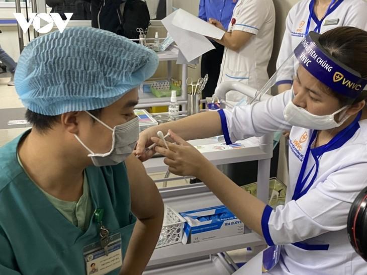ベトナム 新型コロナワクチンの接種を拡大 - ảnh 1
