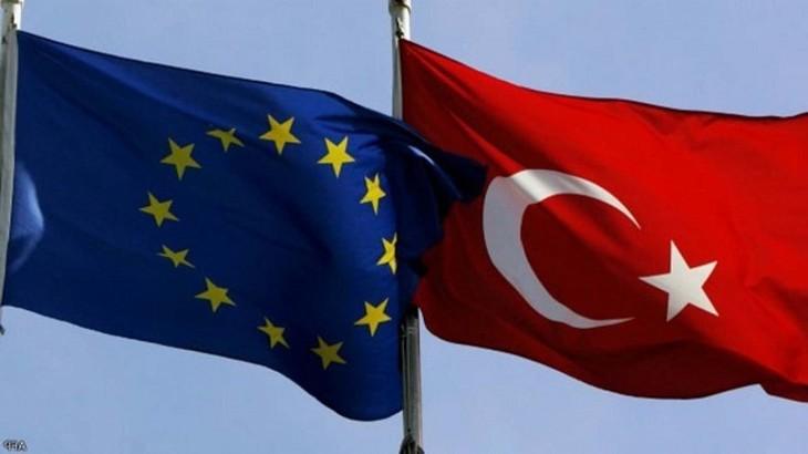 EU首脳会議、トルコとの通商関係強化を表明 制裁にも言及 - ảnh 1