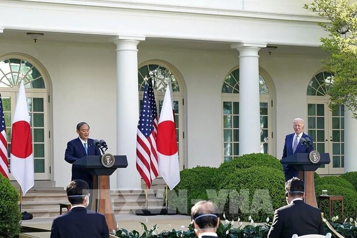 日米共同声明、多くの重要な合意書 - ảnh 1