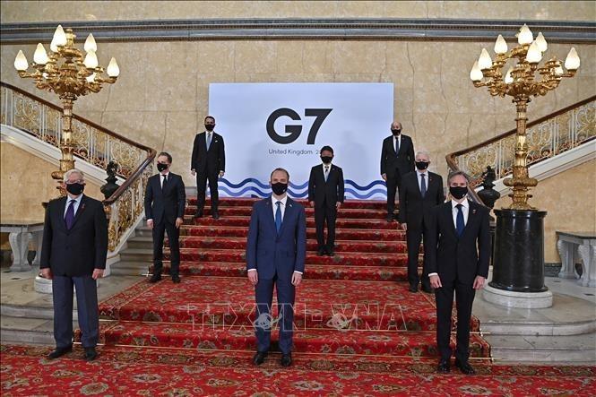G7外相会合、国際問題を解決 - ảnh 1