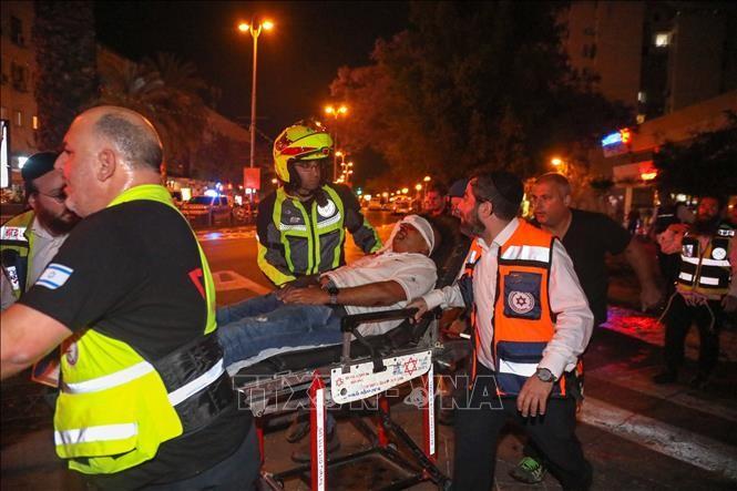 ガザ空爆の死者100人超に イスラエル・パレスチナの衝突激化 - ảnh 1