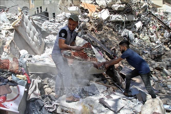 国連安保理、ガザ停戦「全面的順守を」 イスラエルとパレスチナ2国家共存訴え - ảnh 1