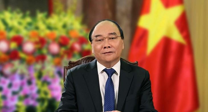 フック国家主席、APEC の首脳らによる非公式会合に参加 - ảnh 1