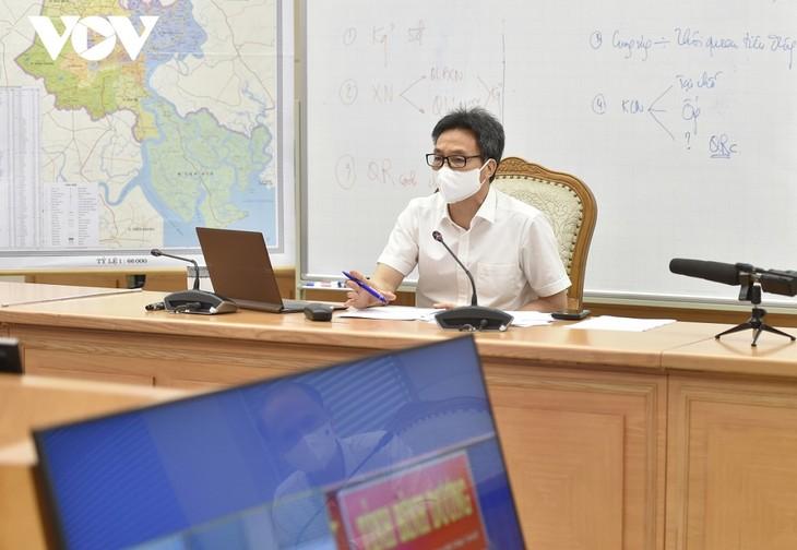 ダム副首相、ビンズオン省の新型コロナ予防対策を協議 - ảnh 1