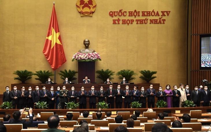 28日午後の国会、4名の副首相名簿を承認 - ảnh 1
