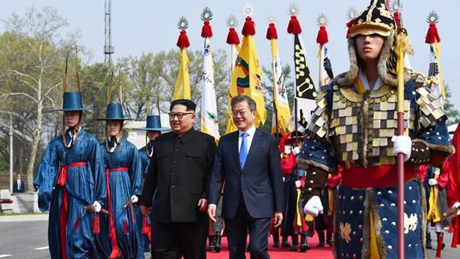 北朝鮮と韓国、首脳会談と連絡事務所再開に向けて協議 - ảnh 1