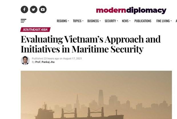 インドの学者、海上保安保障でベトナムの構想を高評 - ảnh 1