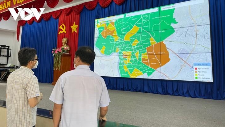ダム副首相 ビンズオン省の新型コロナ予防対策を視察 - ảnh 1