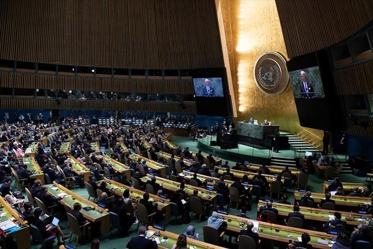 フック主席、第76回国連総会の一般討論会に臨む - ảnh 1