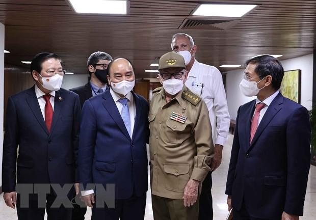 キューバ大使、両国が歴史的記憶を維持 - ảnh 1