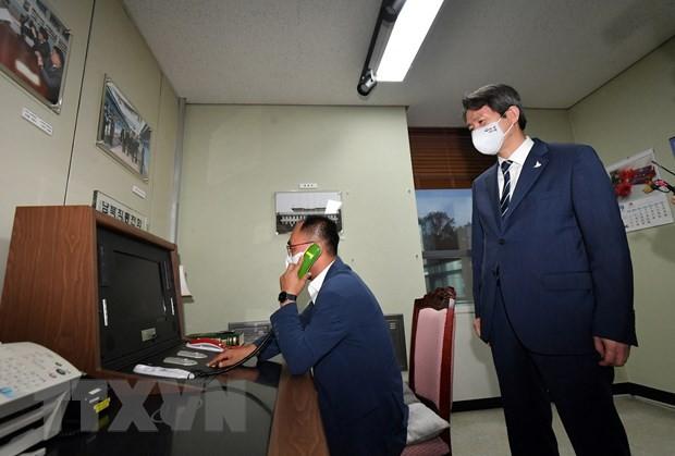 朝鮮 韓国との通信再開 南北対話の再開に期待 - ảnh 1