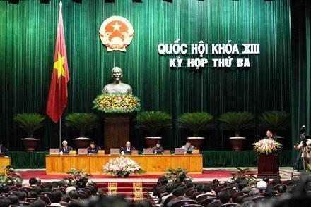 MN Vietnam berbahas tentang rancangan Undang-Undang tentang Ketenaga-kerjaan (amendemen) - ảnh 1