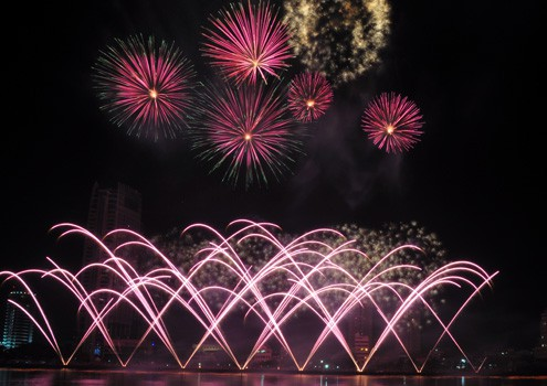 Penutupan Lomba kembang api  internasional Da Nang –tahun 2013. - ảnh 1