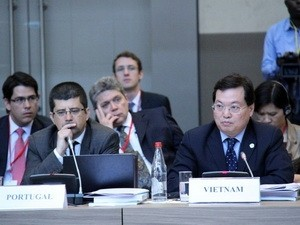 Vietnam menghadiri  Konferensi tentang komunitas - komunitas  diaspora   yang berlangsung di Parancis - ảnh 1