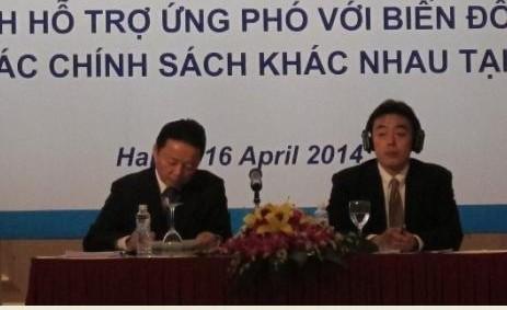 Para donor  internasional memberikan apresiasi terhadap Vietnam  dalam menghadapi perubahan iklim - ảnh 1