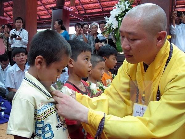 "Program temu pergaulan kesenian dan kebudayaan Buddha: ""Ibunda dan Tanah Air Vietnam"". - ảnh 1"