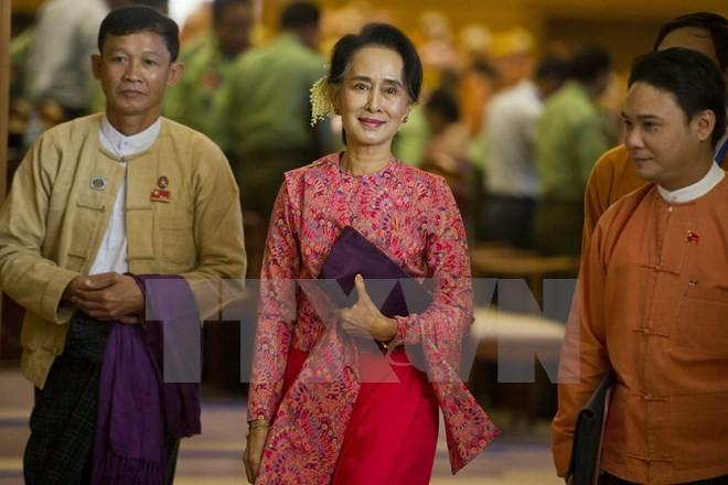 Myanmar menetapkan   hari pemilihan Presiden - ảnh 1