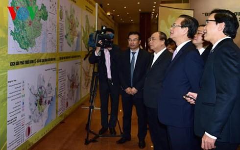 Menyesuaikan perancangan pembangunan Ibukota Hanoi sampai tahun 2030 dan visi sampai tahun 2050 - ảnh 1
