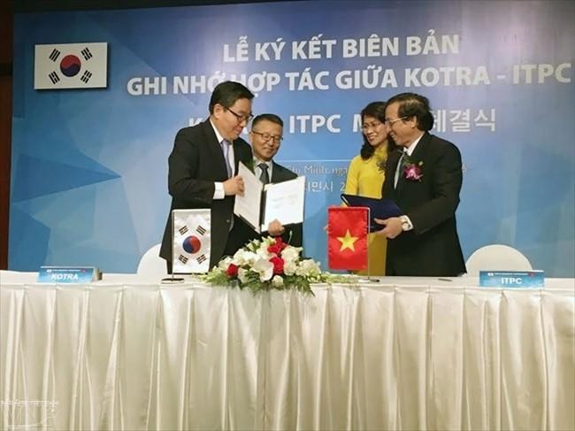 Cabang  tekstil dan produk tekstil  Vietnam menyerap  para investor Republik Korea - ảnh 1