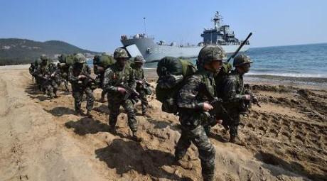 RDRK mengutuk latihan-latihan perang  bersama AS-Republik Korea - ảnh 1